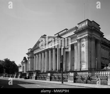 Fitzwilliam Museum, Trumpington Street Cambridge - Stock Photo
