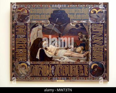 . Mise au tombeau du Christ-Vasnetsov . 31 May 2010, 15:28 (UTC)  191 Entombment of The Christ-Vasnetsov - Stock Photo