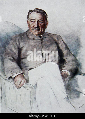 . Cecil John Rhodes 1853-1902 South African mining magnate and politician    119 Cecil john rhodes00 - Stock Photo