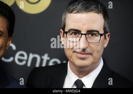 New York City. 29th May, 2018. John Oliver attending the Lincoln Center American Songbook Gala 2018 at the Alice Tully Hall at Lincoln Center on May 29, 2018 in New York City.   Verwendung weltweit Credit: dpa/Alamy Live News - Stock Photo