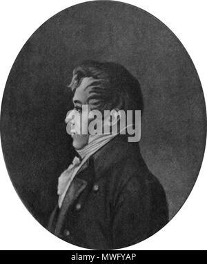 . Polski: Julian Ursyn Niemcewicz . circa 1800. Unknown 329 Julian-Ursyn-Niemcewicz - Stock Photo
