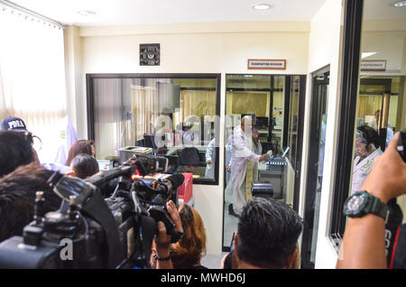 Quezon City, Philippines. 31st May, 2018. The PDEA Laboratory Service is now houesed in a new three-storey building at the agency's national headquarters in Quezon City designed to improved its facility for safekeeping of drug evidence. Credit: Robert Oswald Alfiler/Pacific Press/Alamy Live News - Stock Photo