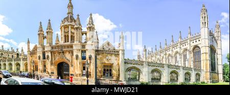 Kings College Cambridge, King's College, Cambridge, King's College Cambridge, Cambridge University, King's, College, Cambridge UK, uni, university, uk - Stock Photo
