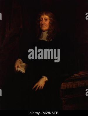 . English: Sir Geoffrey Palmer, 1st Baronet (1598-1670) . circa 1660. Sir Peter Lely 562 SirGeoffreyPalmer1stBt - Stock Photo
