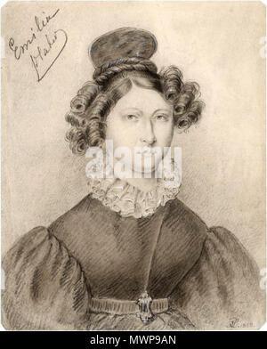 Polski: Emilia Plater (1806-1831) . 1838. Unknown 434 Portret ...