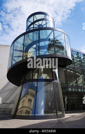 BERLIN, GERMANY - MAY 15 2018: Zeughaus wing extension of the German Historical museum - Deutsches Historisches museum on May 15, 2018 in Berlin, Germ - Stock Photo