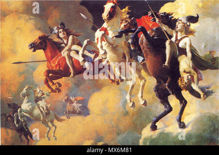 Wagner Ride of the Valkyries (Piano solo) Sheet music for