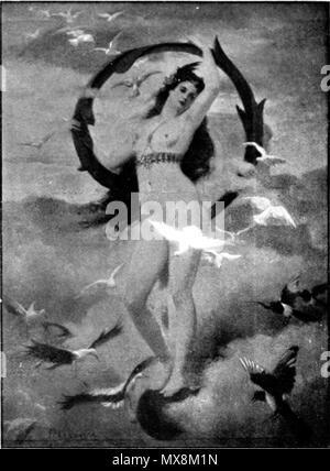 .  Français: Le point d'interrogation . 10 August 2012. Fernand Le Quesne 207 Fernand Le Quesne - Le point d'interrogation - Stock Photo