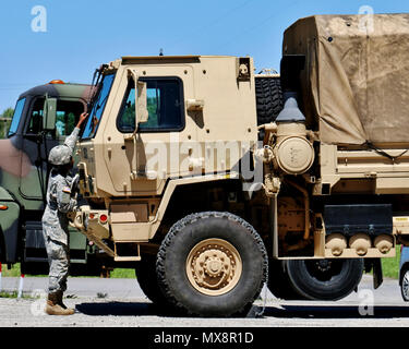 Army national guard soldiers enrolled in the 88m motor for 88m motor transport operator