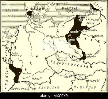 Map Of Germany 1919.Map Of Territorial Losses The Areas In Black Of Germany After The