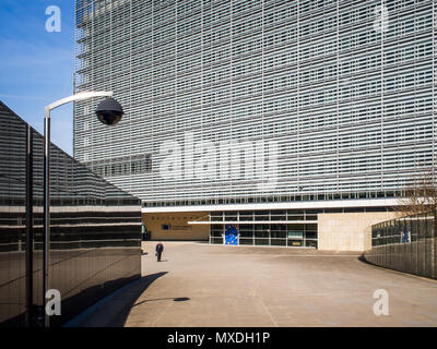 Le Berlaymont (European Commission building), Brussels, Belgium. - Stock Photo