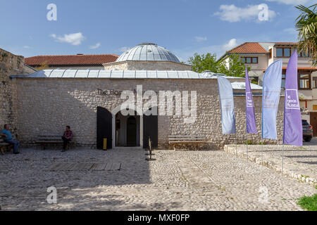 The Hamam Museum in Mostar, the Federation of Bosnia and Herzegovina. - Stock Photo