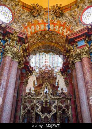 Monasterio de Santa María del Paular. Pueblo de Rascafría. Sierra de Guadarrama. Madrid. España - Stock Photo