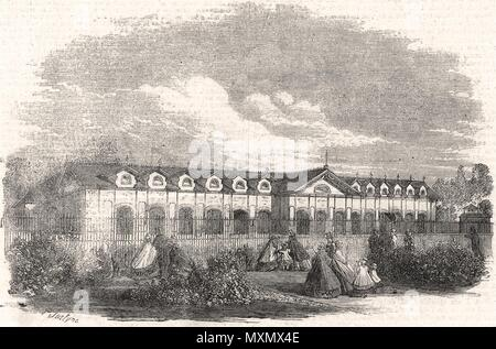 Antelope House in the Zoological Society's Gardens, Regent's Park. London 1861. The Illustrated London News - Stock Photo