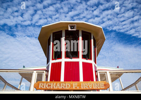 A view of Disneyland, Florida, United States. - Stock Photo