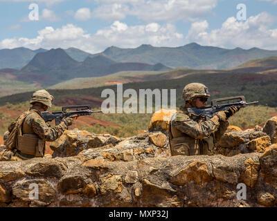 U S  Marine Cpl  Matthew Miller, combat engineer with Combat