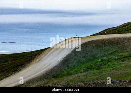 Empty, Ring Road, Eastern Iceland - Stock Photo