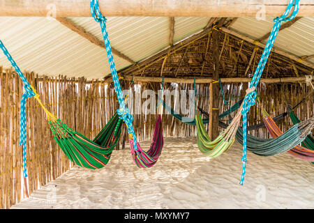 basic dormitory in paradise - Stock Photo