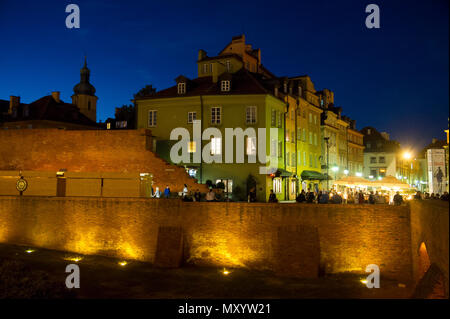 Historic Warsaw Old Town listed World Heritage by UNESCO, Warsaw, Poland. May 12th 2018 © Wojciech Strozyk / Alamy Stock Photo - Stock Photo