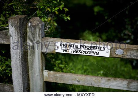 Stonesfield , a village in  Oxfordshire in the Cotswolds - Stock Photo