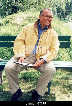 GÖRAN PERSSON former Swedish Prime minister resigned 2004 Social Democrat - Stock Photo