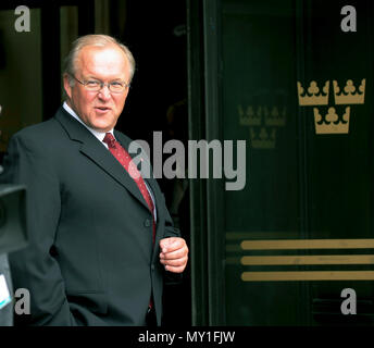 GÖRAN PERSSON former Swedish Prime minister resigned 2006 Social Democrat - Stock Photo