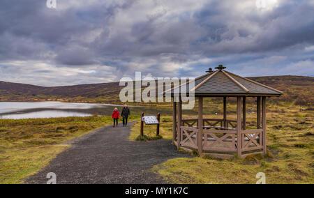 Vifilsstadavatn in Gardabaer, suburb of Reykjavik, Iceland - Stock Photo