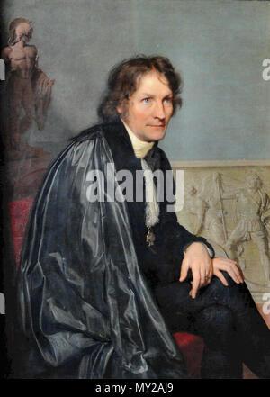Vogel Von Vogelstein Carl Christian - Portrait of Bertel Thorvaldsen
