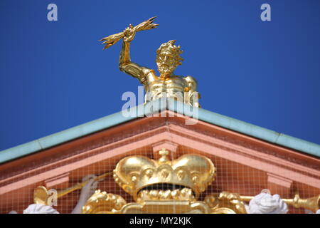 Rastatt Residential Palace - Residenzschloss Rastatt - Germany - Stock Photo