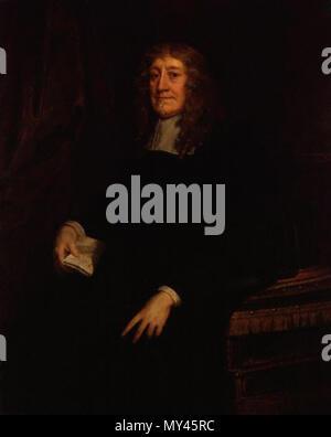 . English: Sir Geoffrey Palmer, 1st Baronet (1598-1670) . circa 1660. Sir Peter Lely 491 SirGeoffreyPalmer1stBt - Stock Photo