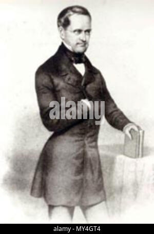 . Otto Theodor von Manteuffel . 1856. Unknown 341 Manteuffel, Otto Theodor von (1805-1882)9 - Stock Photo