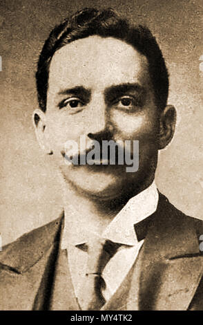TITANIC Portrait of Joseph Bruce Ismay, (862-1937) White Star Line Managing Director at the time of the sinking of the Titanic. He was aboard the vessel and survived - Stock Photo