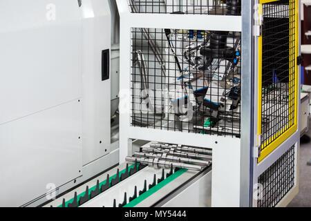 Horizontal CNC lathes - Stock Photo