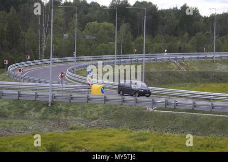 Russia  06th June, 2018  NOVGOROD REGION, RUSSIA - JUNE 6