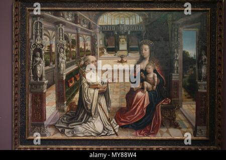 Nederlands Lactatio Van De Heilige Bernardus Van Clairvaux