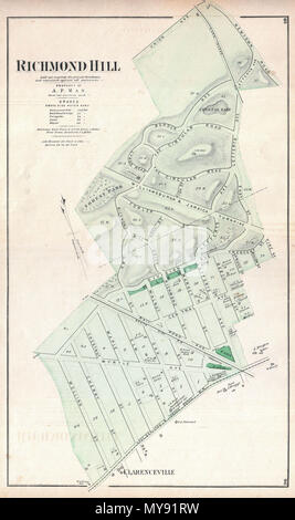 Richmond Hill  Laid out expressly for private Residences, and