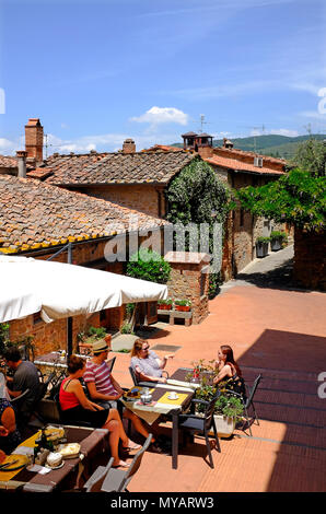 vinci, tuscany, italy - Stock Photo