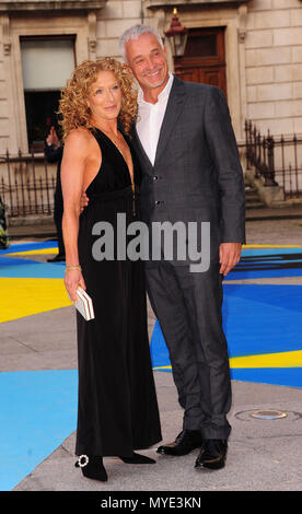 London, UK. 6th June, 2018. Kelly Hoppen attending Royal Academy of Arts Summer Exhibition 2018 party London Wednesday 6th June Credit: Peter Phillips/Alamy Live News - Stock Photo
