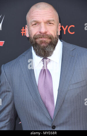 North Hollywood, CA, USA. 8th June, 2018. 06 June 2018 - North Hollywood, California - Paul Levesque, Triple H. WWE FYC Event held at Saban Media Center at the Television Academy. Photo Credit: Birdie Thompson/AdMedia Credit: Birdie Thompson/AdMedia/ZUMA Wire/Alamy Live News - Stock Photo