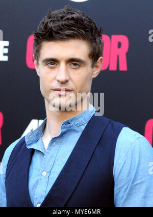 Los Angeles, California, USA. 6th June, 2018. Actor Max Irons attends AT&T Audience Network's 'Condor' Premiere on June 6, 2018 at NeueHouse Hollywood in Los Angeles, California. Photo by Barry King/Alamy Live News - Stock Photo