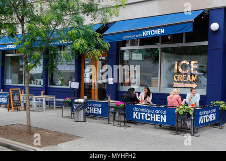 Dominique Ansel Kitchen, 137 Seventh Avenue S, New York, NY - Stock Photo