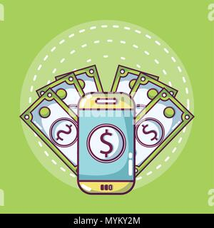 Money online concept - Stock Photo