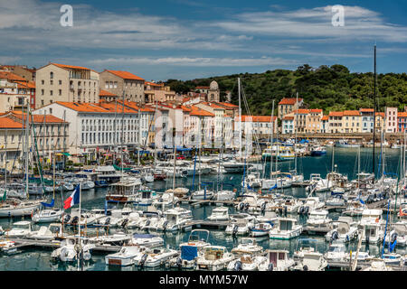 Port-Vendres, Pyrenees-Orientales, France - Stock Photo