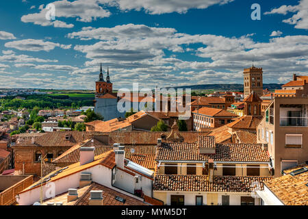 City skyline, Teruel, Aragon, Spain - Stock Photo
