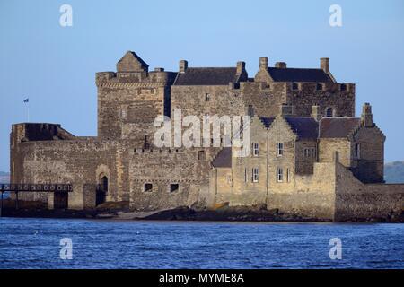 Black Jack Randall castle - Stock Photo