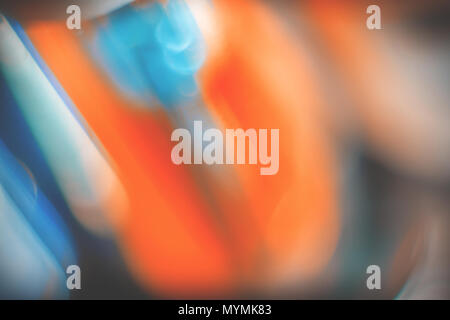 Blurry ambient photo. Abstract futuristic contemporary wallpaper - Stock Photo