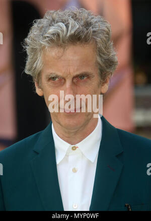 June 6, 2018 - Peter Capaldi attending Royal Academy of Arts Summer Exhibition Preview Party, Burlington House in London, England, UK - Stock Photo