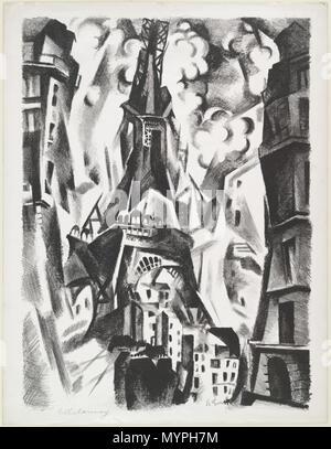 English Robert Delaunay La Tour 1925 Museum Of Modern