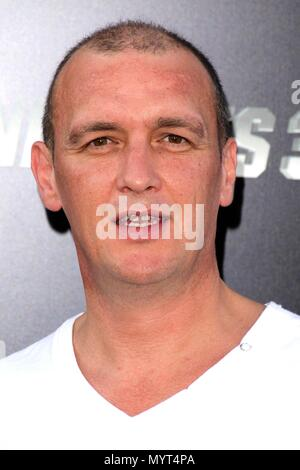 ***FILE PHOTO*** Actor Alan O'Neill Has Passed Away HOLLYWOOD, CA - August 11: Alan O'Neill at 'The Expendables 3' Los Angeles Premiere, TCL Chinese Theater, Hollywood, August 11, 2014. Credit: Janice Ogata/MediaPunch - Stock Photo
