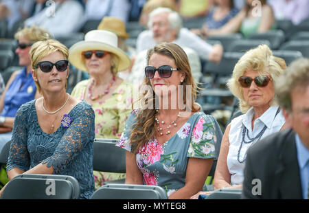 Ardingly Sussex UK 8th June 2018 - Crowds enjoy the sunny weather at the South of England Show at the Ardingly Showground near Haywards Heath Sussex Photograph by Simon DackCredit: Simon Dack/Alamy Live News - Stock Photo